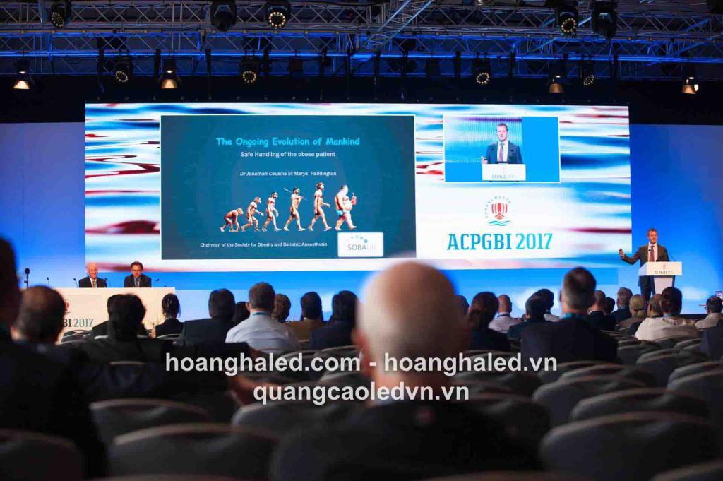 Màn hình LED hội trường giá rẻ, cung cấp màn hình LED hội trường tại Hà Nội